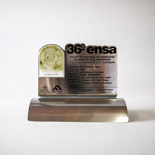 36º ensa - Encontro Nacional de Sindicatos de Arquitetos - Curitiba/PR -  Arquiteto do ano
