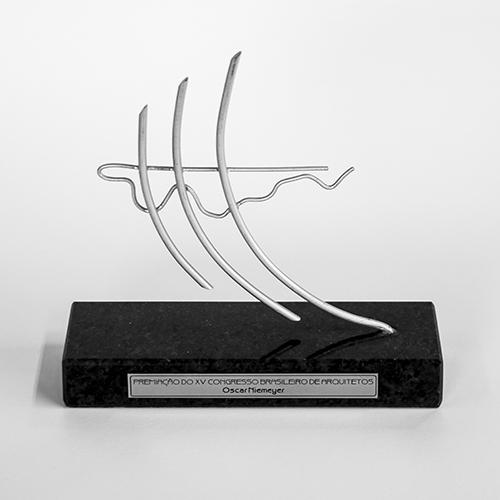 XV Congresso Brasileiro de Arquitetos Oscar Niemeyer - Conjunto de Obra - 1997