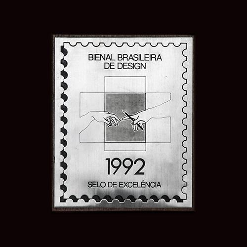 Bienal Brasileira de Design -  1992 Selo de Excelência ao Arquiteto Manoel Coelho